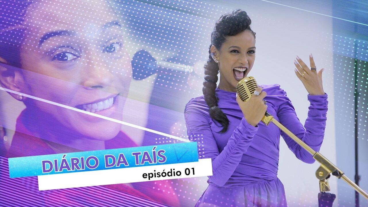 #DiáriodaTaísEp01: Os primeiros momentos de Tais Araujo no 'PopStar'