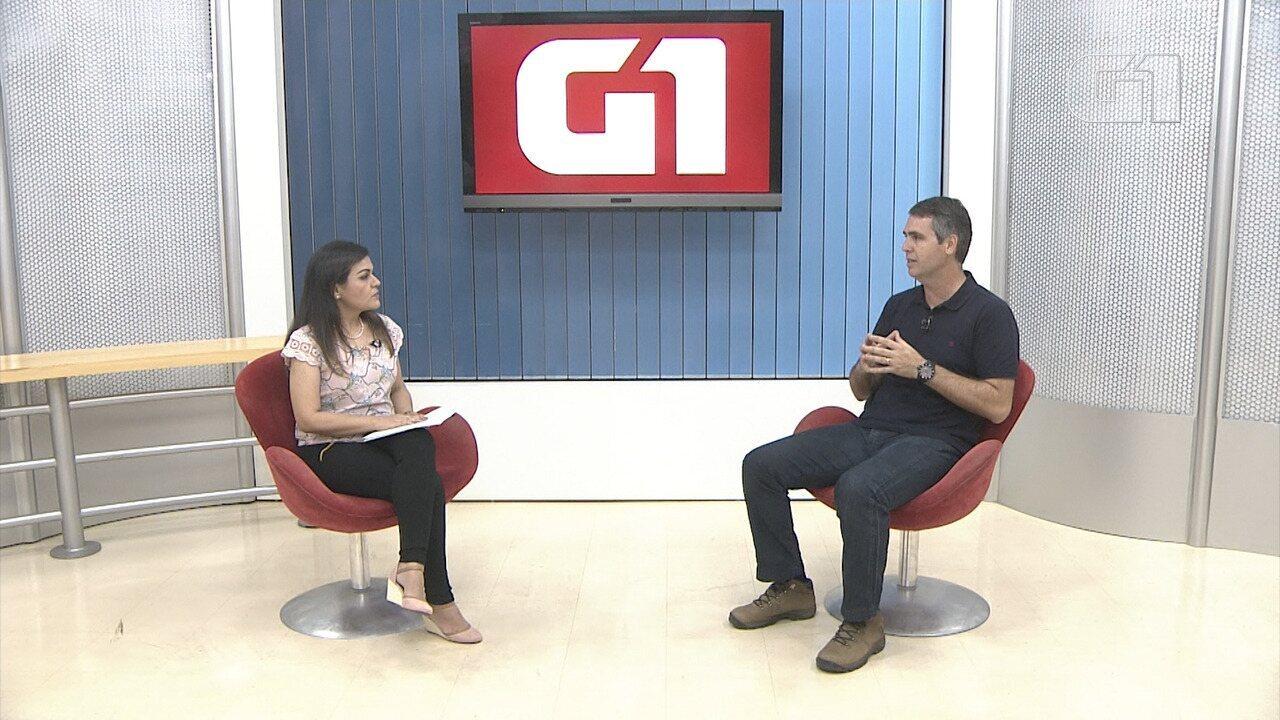 Marcus Alexandre (PT) foi o segundo entrevistado do G1