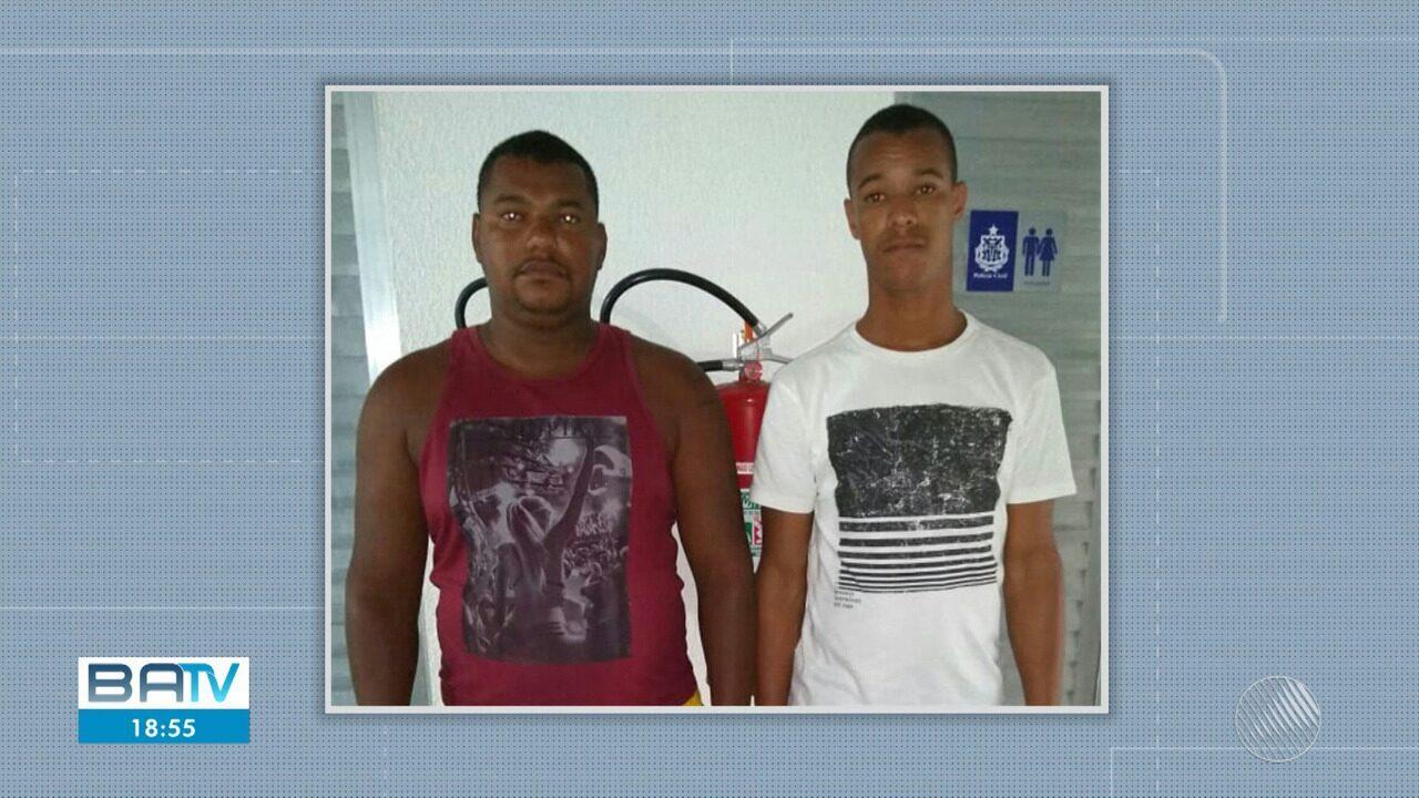 Polícia prende dois suspeitos de jogar jovem ao mar em Salvador