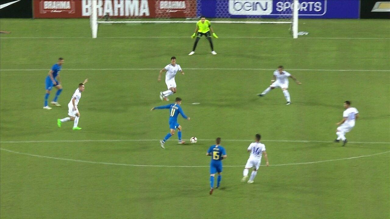 Melhores momentos: Brasil 5 x 0 El Salvador pelo amistoso internacional