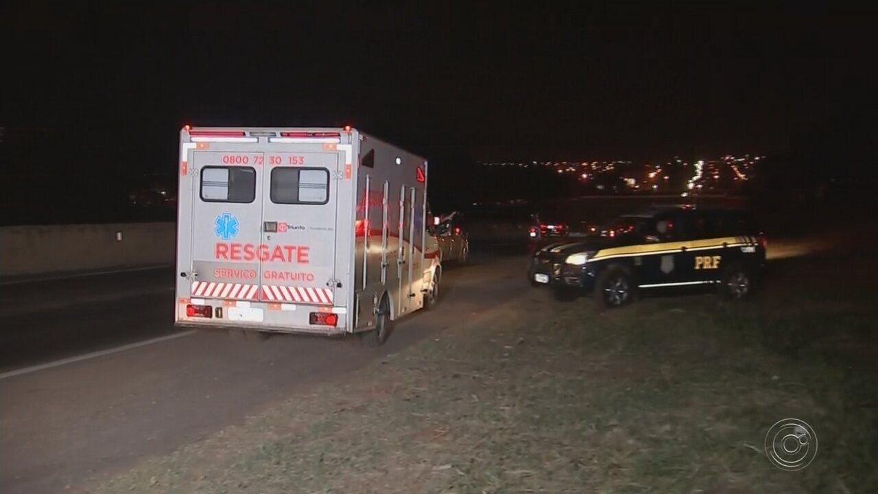 Homem fica ferido durante atropelamento em rodovia de Rio Preto