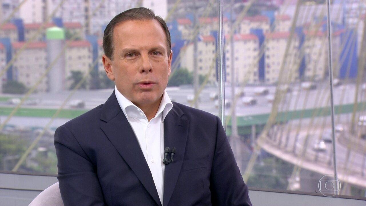 SP1 entrevista o candidato ao governo João Dória (PSDB)