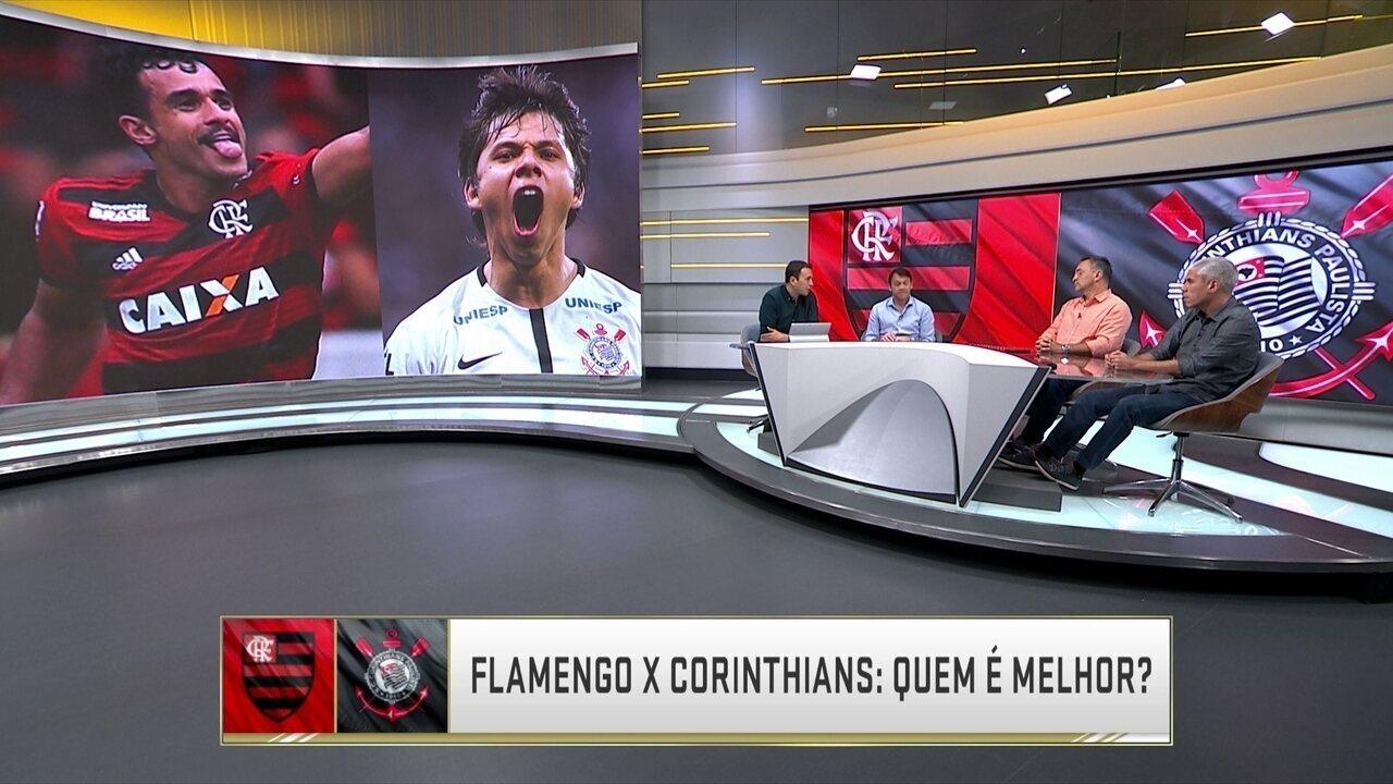 Comentaristas escalam time ideal de Corinthians e Flamengo