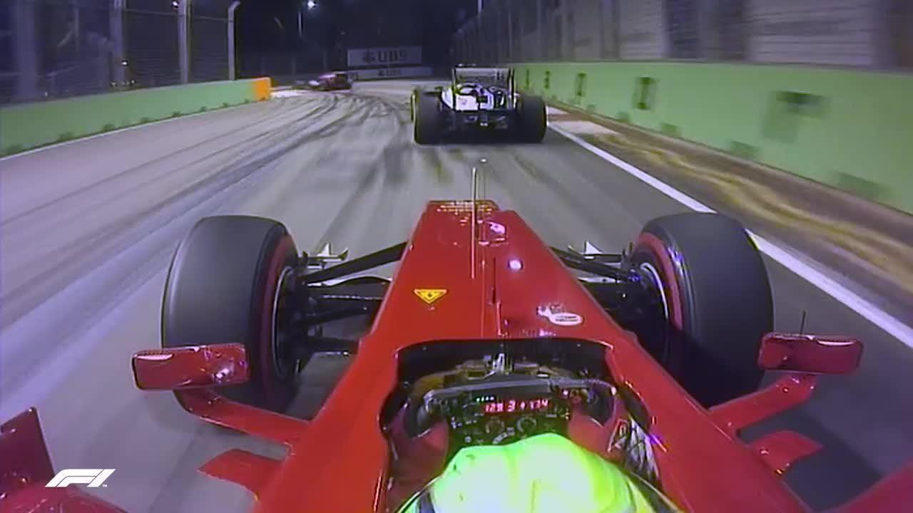 As cinco onboards loucas do GP de Singapura