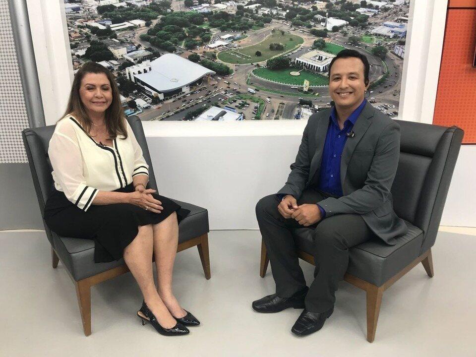 Candidata Suely Campos é entrevistada no Jornal de Roraima - 1ª Edição