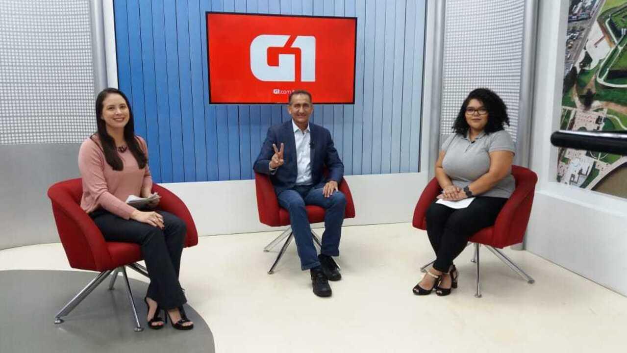 G1 entrevista o candidato ao governo do Amapá, Waldez, do PDT