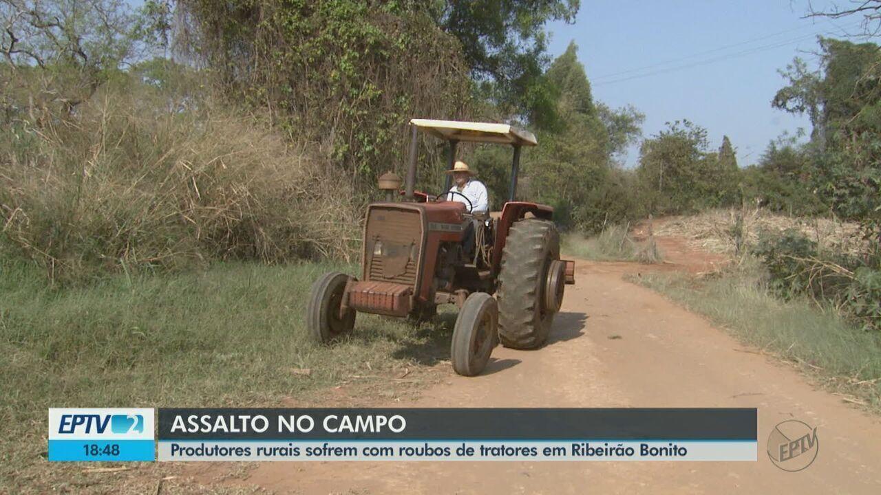 Produtores rurais sofrem com roubos de tratores em Ribeirão Bonito