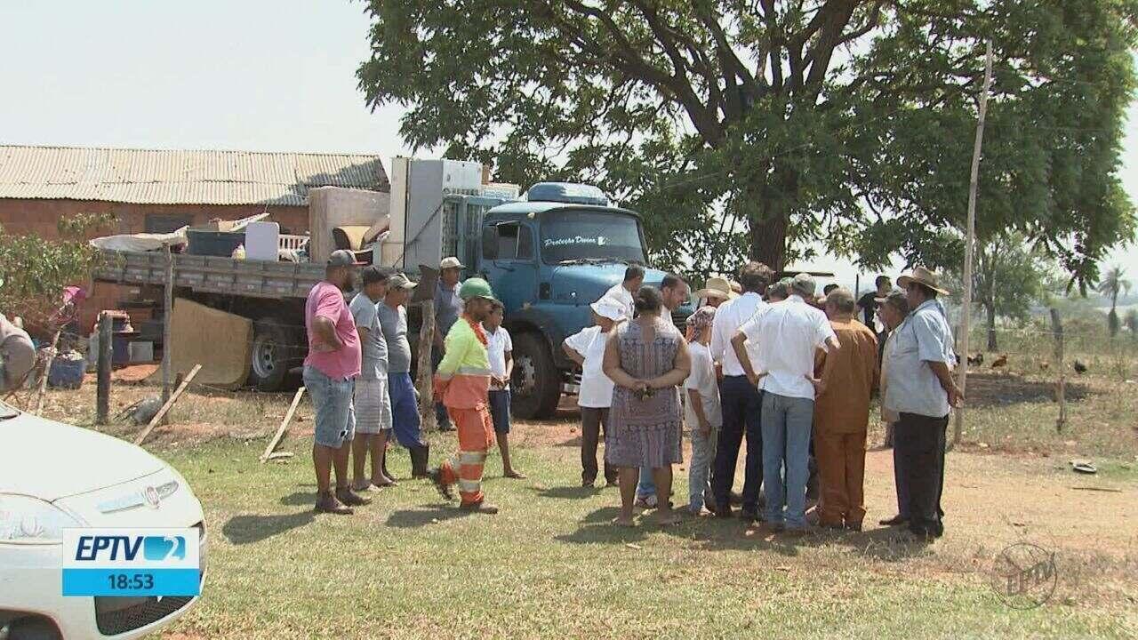 Justiça faz reintegração em área de assentamento e moradores dizem que não foram avisados