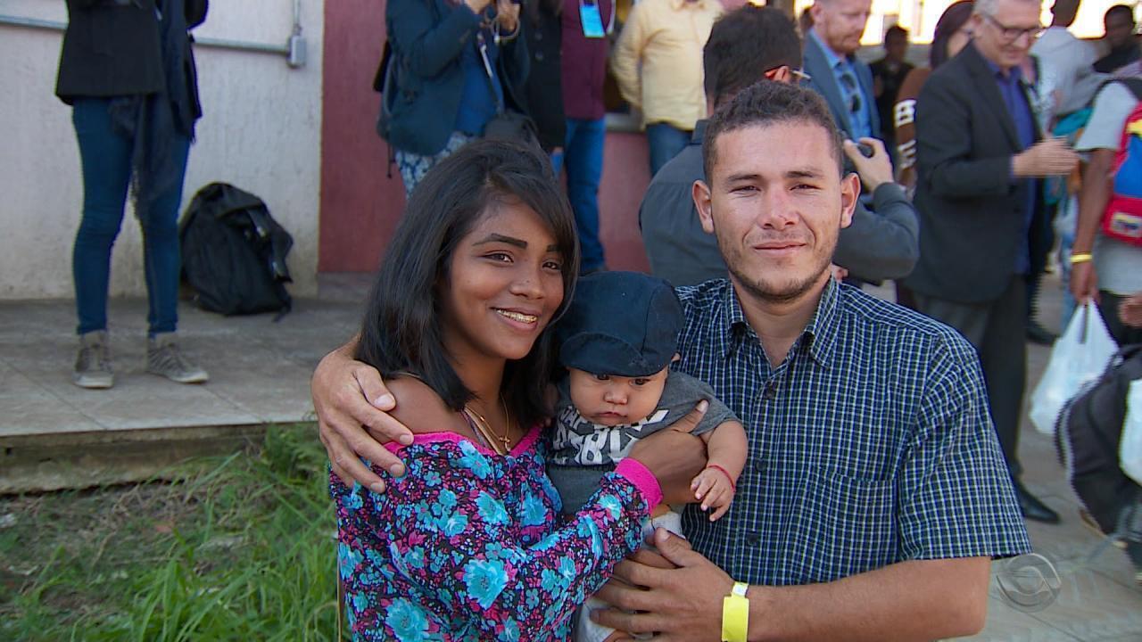 Mais um grupo de imigrantes venezuelanos chega ao Rio Grande do Sul