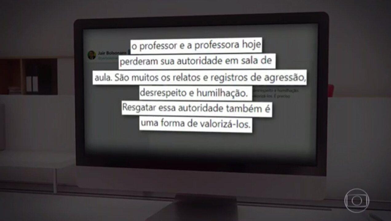Candidato do PSL, Jair Bolsonaro, tem alimentação oral suspensa