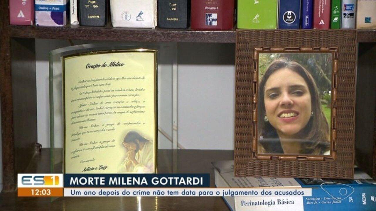 Caso Milena Gottardi: um ano depois do crime não tem data para o julgamento dos acusados.