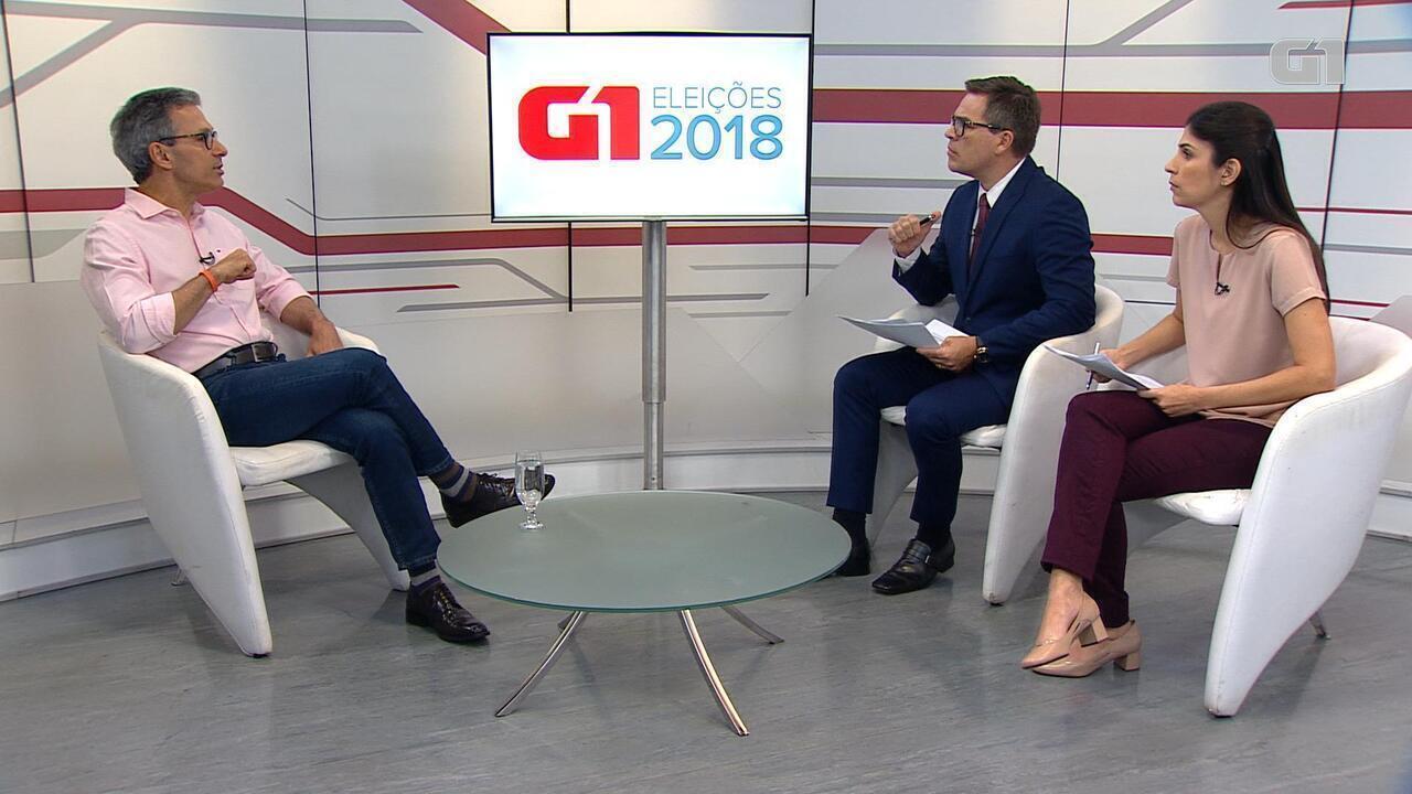 G1 entrevista Romeu Zema, candidato ao governo de Minas Gerais pelo Novo