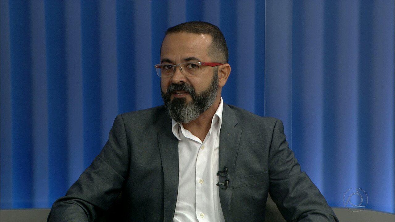 Candidato ao governo da Paraíba Tárcio Teixeira (PSOL) é entrevistado no JPB 1ª Edição