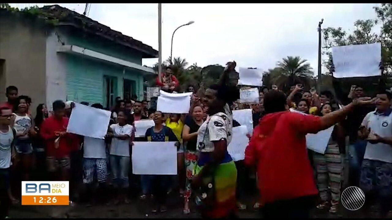 Estudandes do IF Baiano ocupam o campus e reivindicam melhorias em Uruçuca