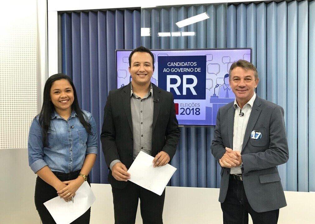 Candidato ao governo de Roraima, Antônio Denarium é entrevistado pelo G1 RR