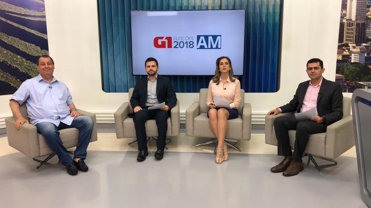 Omar Aziz é entrevistado no G1 Amazonas