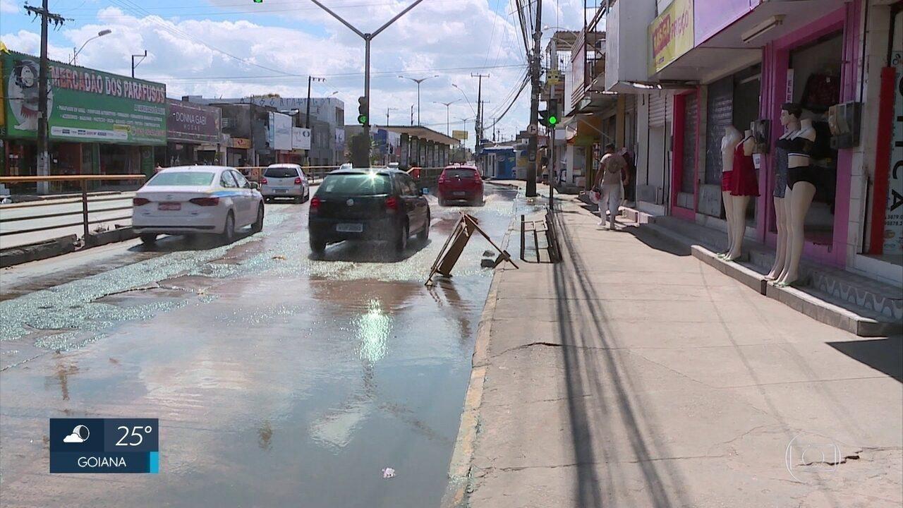 Obras de reparação da Avenida Presidente Kennedy são iniciadas em Olinda