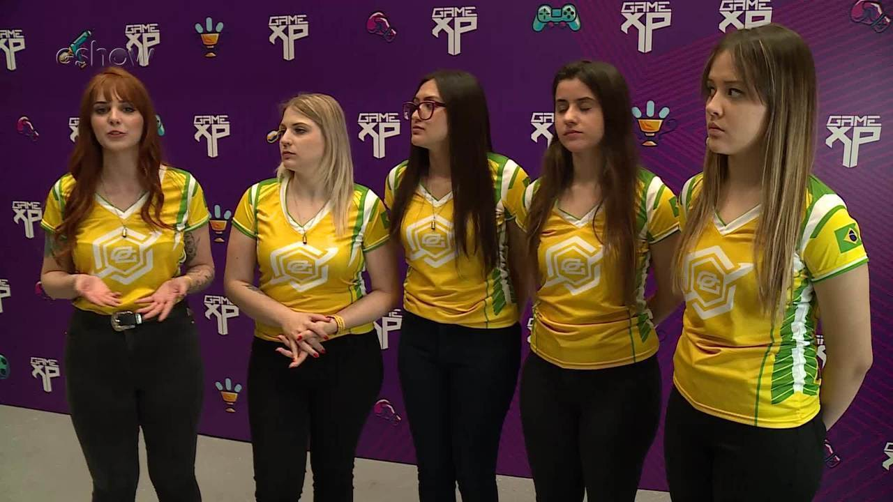Vencedoras do torneio feminino de CS GO falam sobre a Game XP