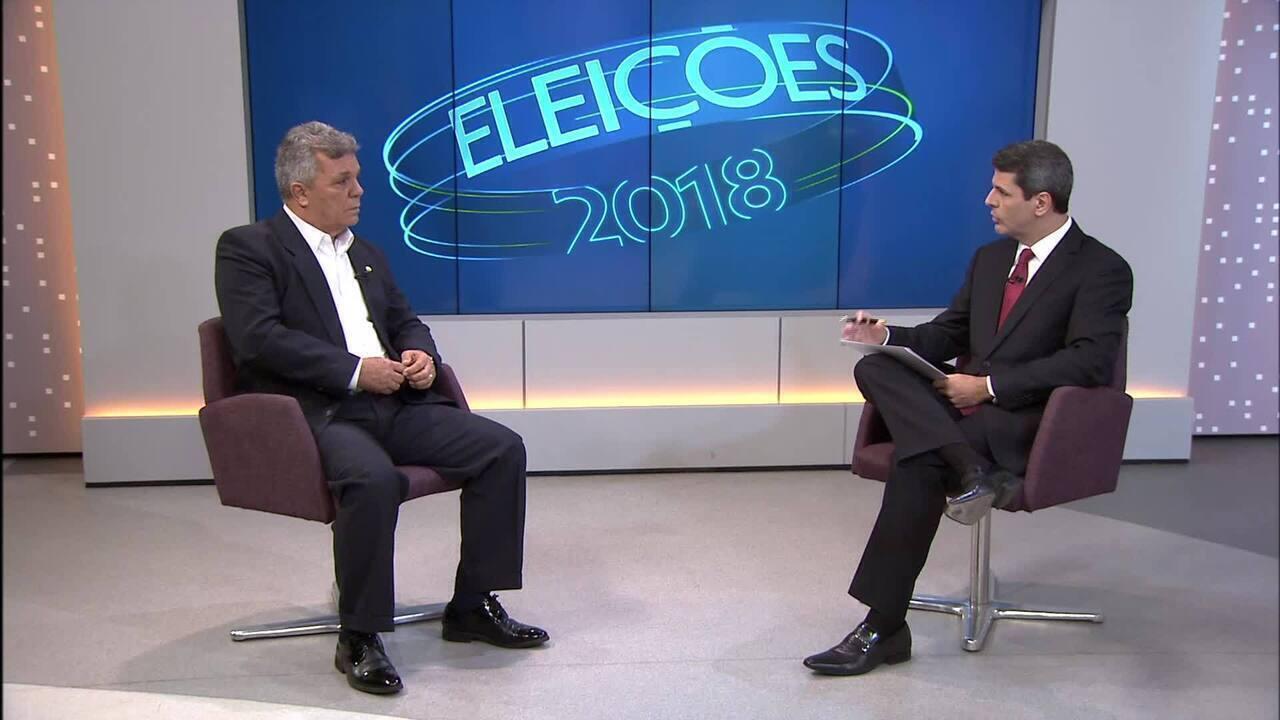 Alberto Fraga (DEM) é entrevistado no DF1
