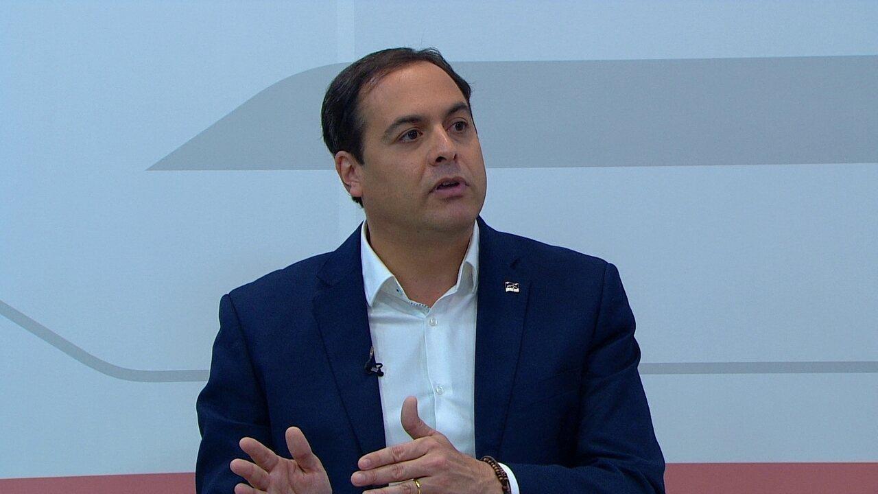 Paulo Câmara fala sobre ampliação do número de vagas no sistema prisional de Pernambuco