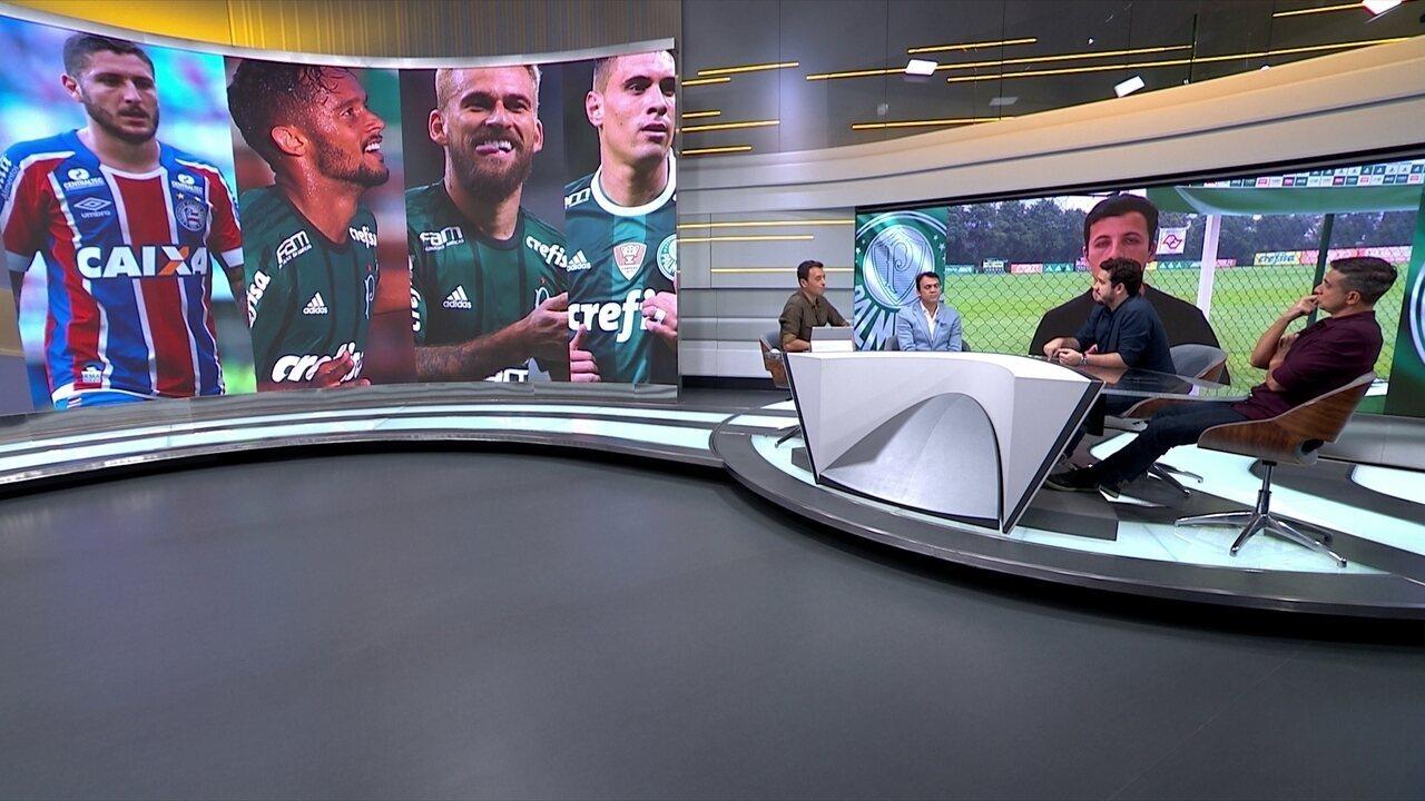 Seleção SporTV compara os meias do Palmeiras com o Zé Rafael