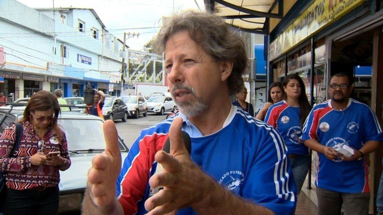 Aridelmo Teixeira fala sobre mobilidade urbana em dia de campanha no ES