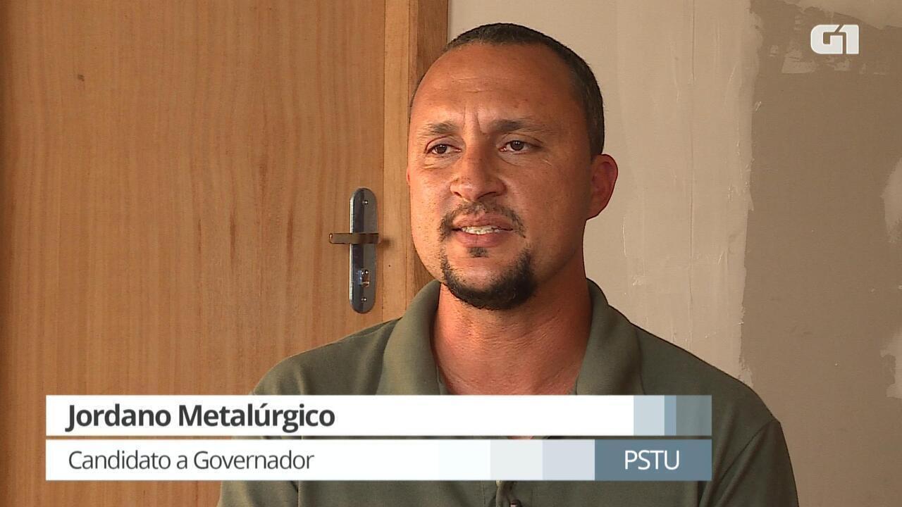 G1 entrevista Jordano Metalúrgico, candidato ao governo de Minas pelo PSTU