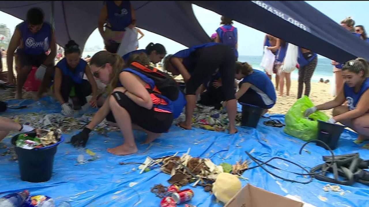 Dia Mundial de Limpeza terá mutirão nas praias do Rio de Janeiro