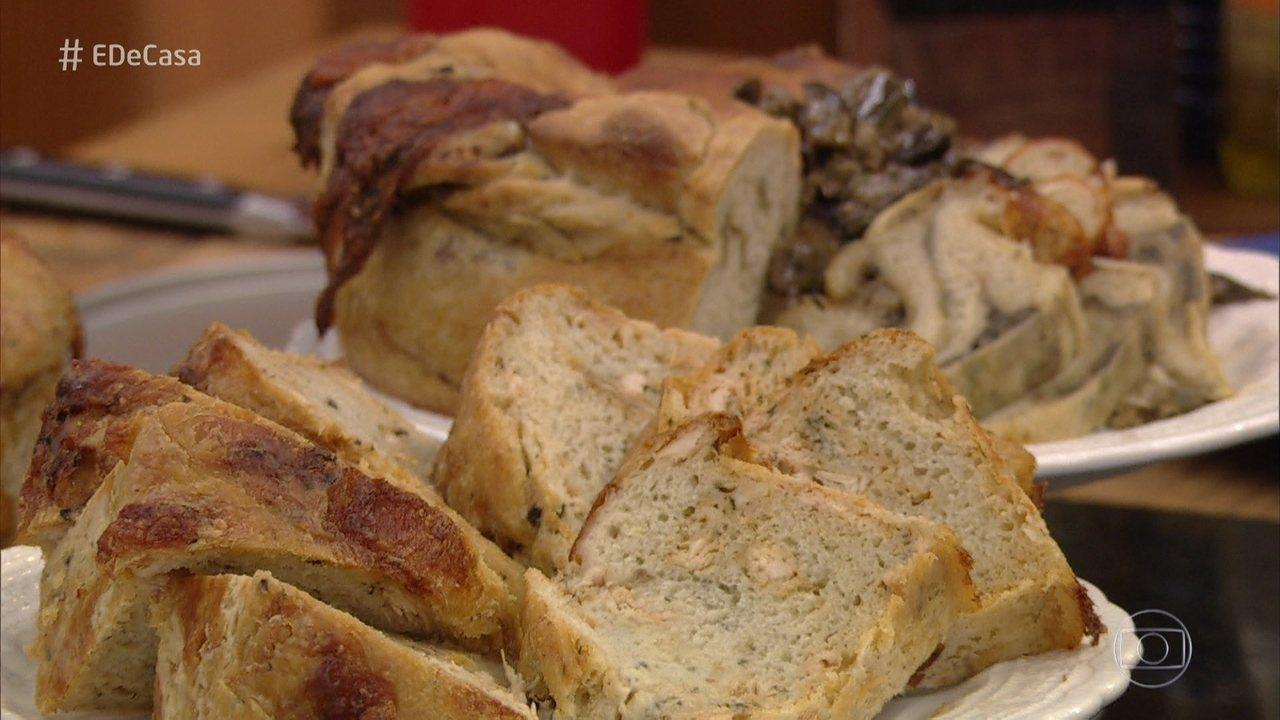 Chef Ravioli ensina a fazer Pão de Frango