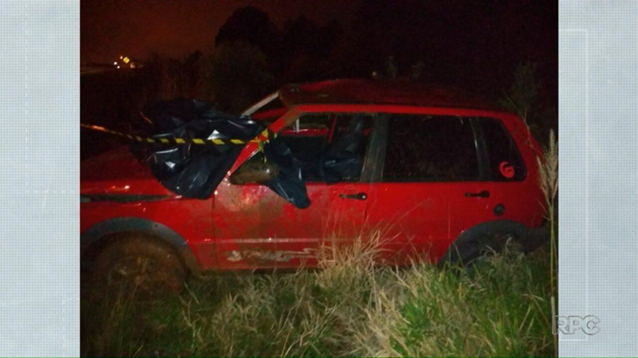 Homem morre em acidente na PR-151, em Jaguariaíva