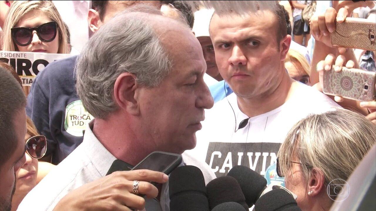 Ciro Gomes faz campanha em Boa Vista neste sábado (15)