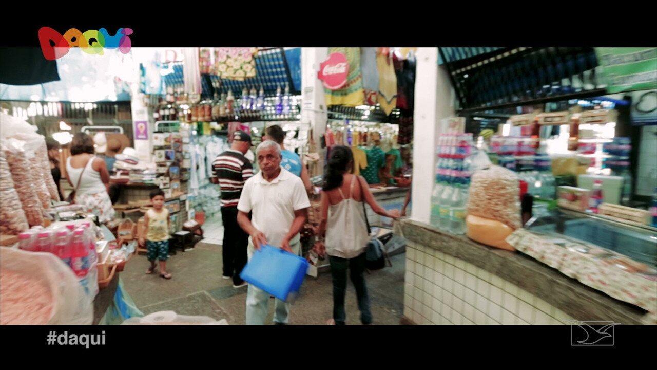 Mercado das Tulhas é destaque no Daqui