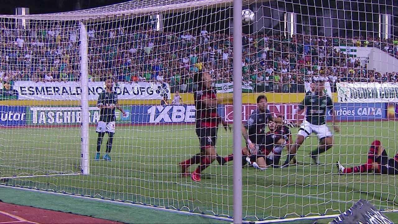 Veja os melhores momentos do jogo entre Goiás e Atlético-GO