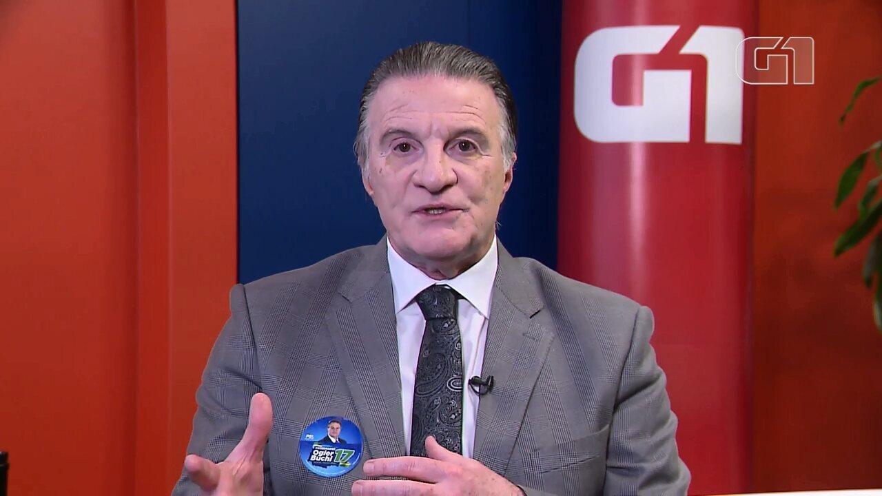 Assista ao que disse Ogier Buchi (PSL) sobre propostas na área de Segurança