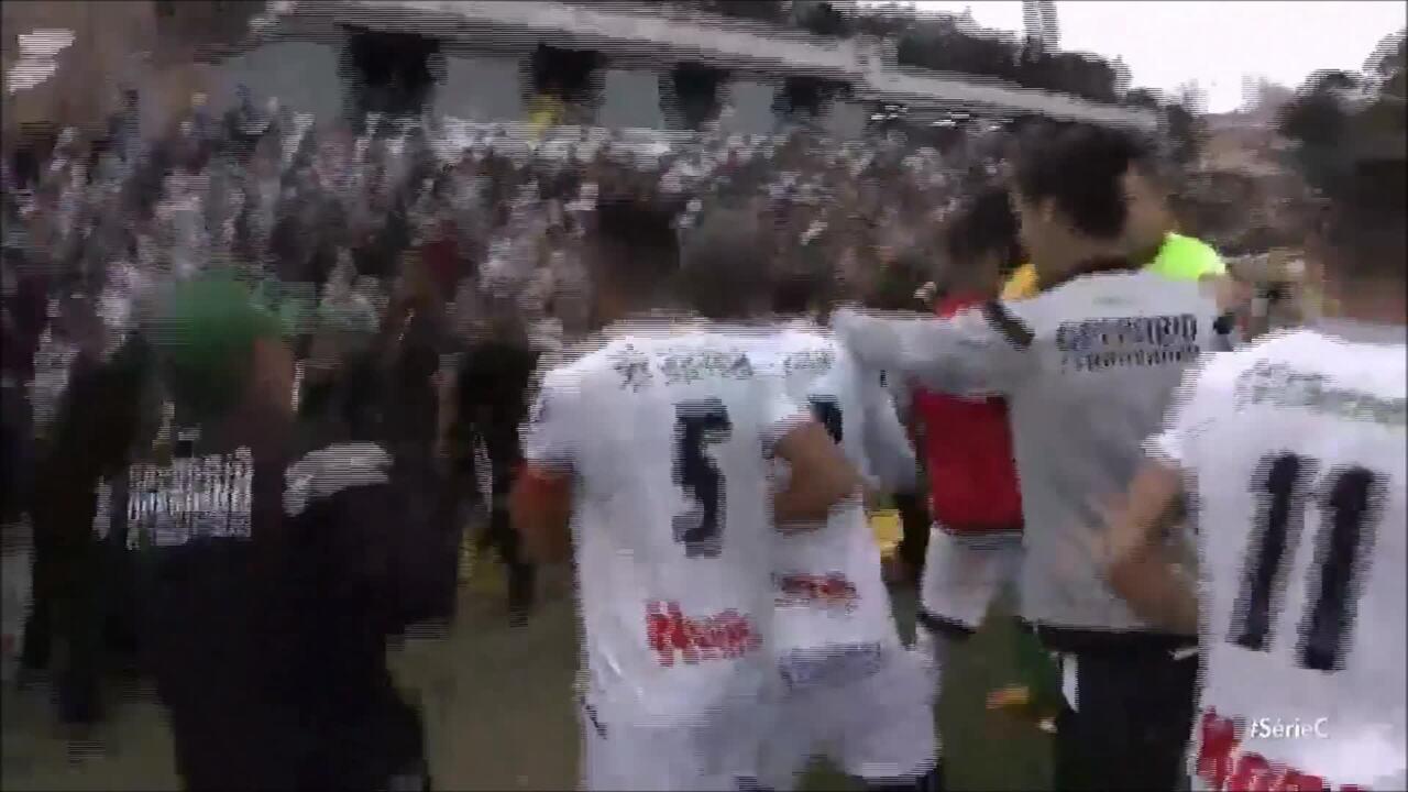 Jogadores de Operário-PR e Cuiabá brigam após primeiro jogo da final da Série C