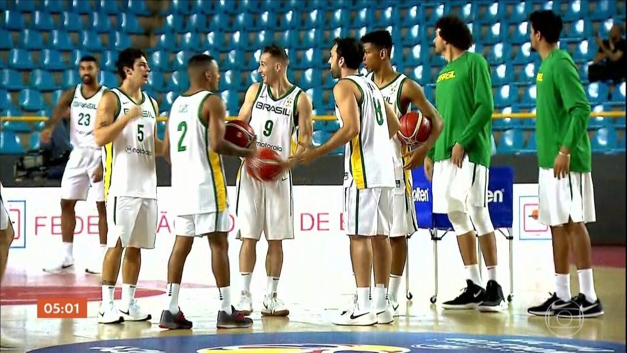 Seleção brasileira de basquete vence as Ilhas Virgens por W.O.