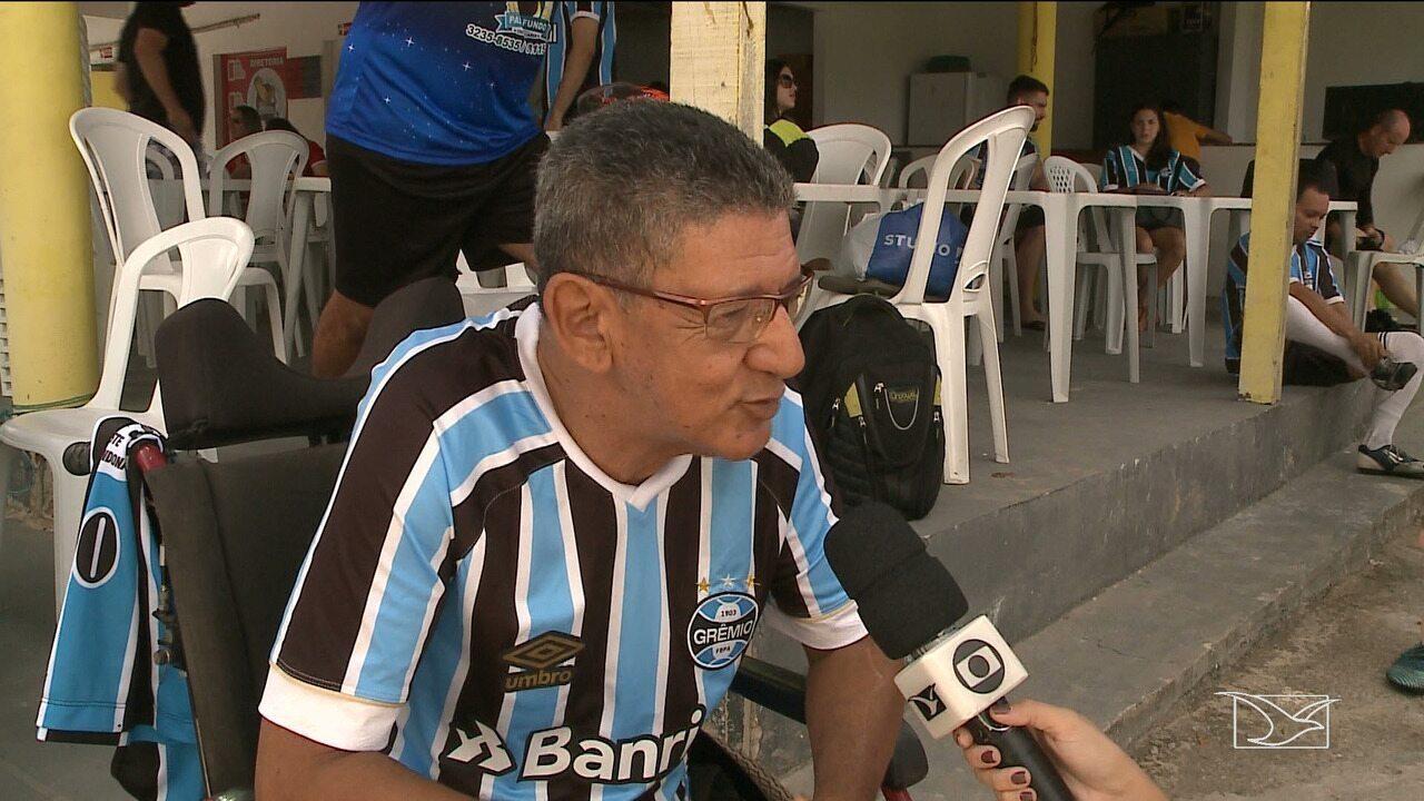 Grêmio e Internacional realizam jogo clássico em São Luís
