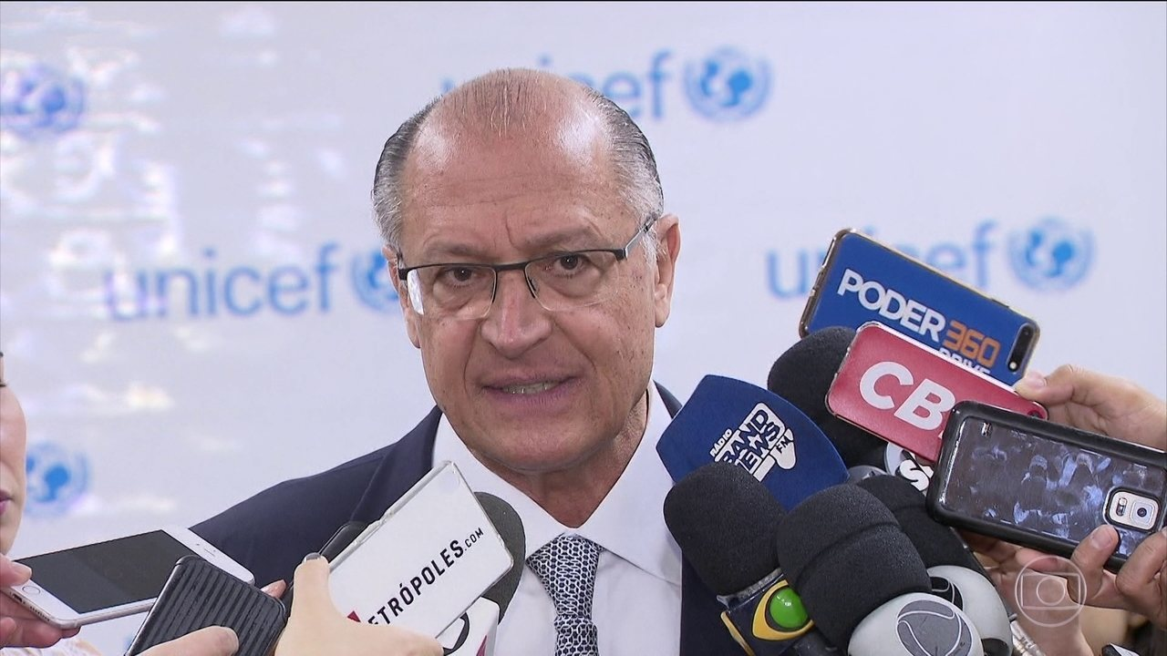 Geraldo Alckmin tem dia de compromissos em Brasília