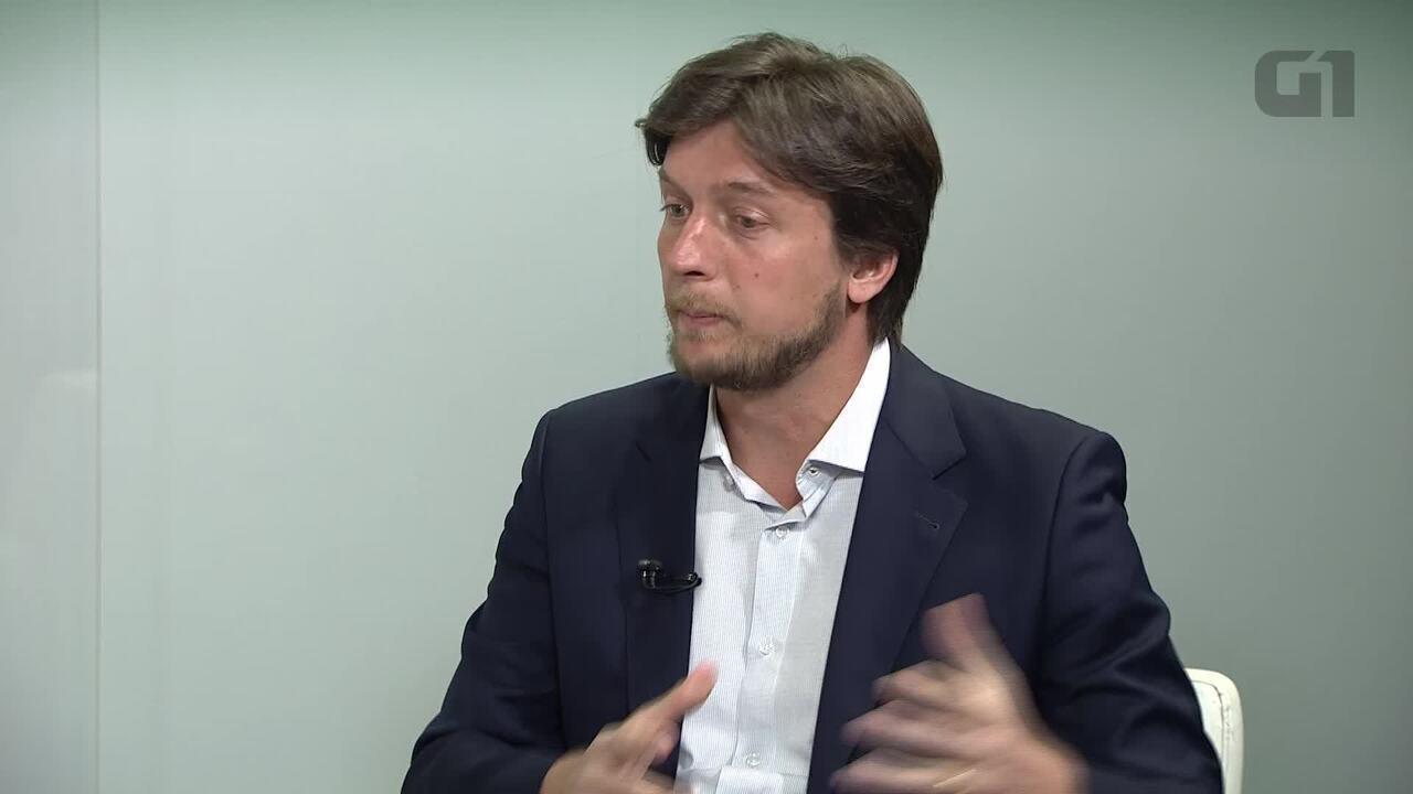 G1 entrevista o candidato ao governo do DF Alexandre Guerra, do Novo