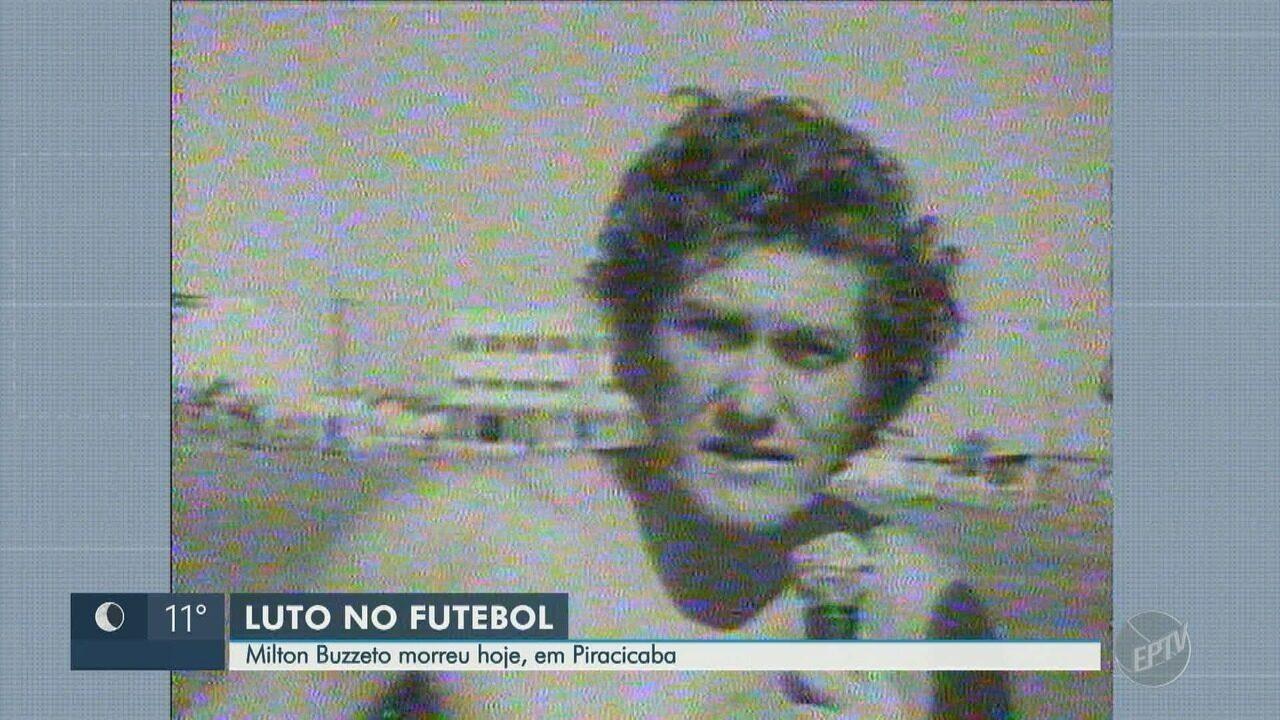 Ex-técnico e jogador de futebol Milton Buzetto morre aos 80 anos em Piracicaba