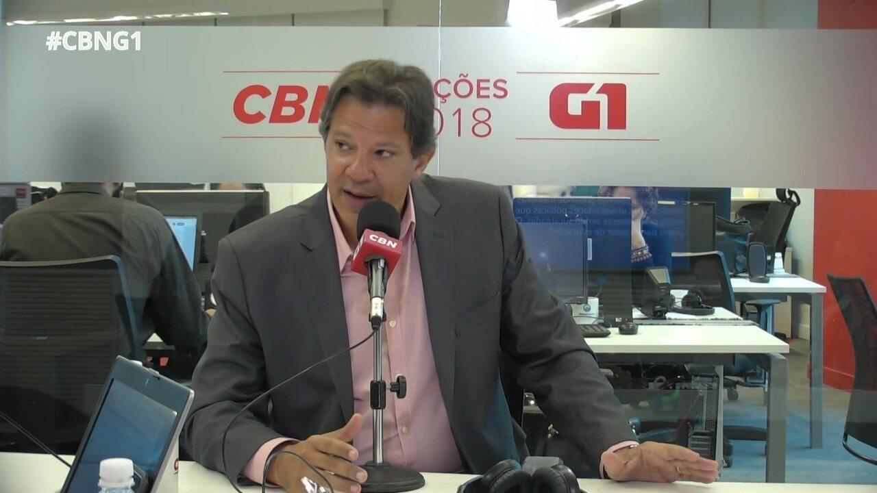 Fernando Haddad responde a perguntas sobre o Monitor da Violência