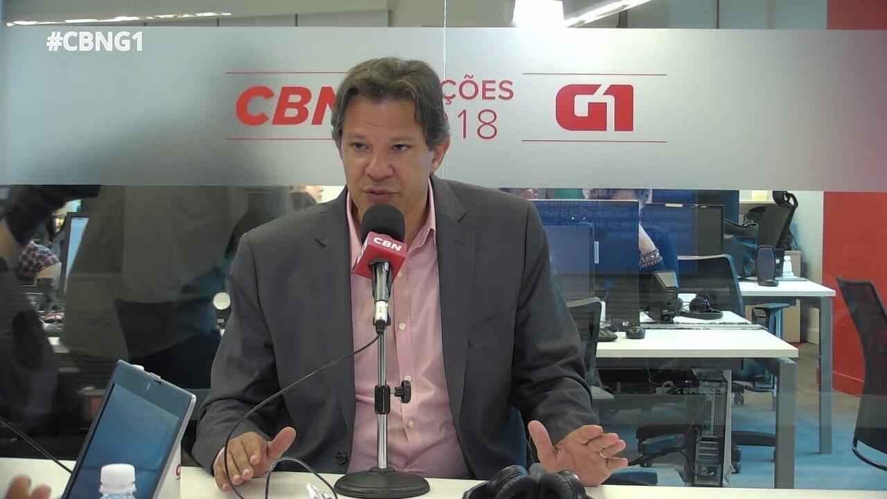 Haddad fala sobre epidemia de zika na gestão Dilma
