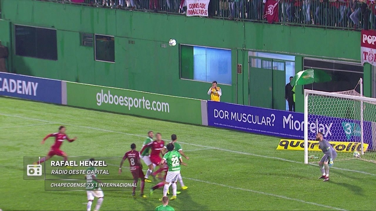 Redação AM: veja os minutos finais de Chape 2 x 1 Inter na narração de Rafael Henzel