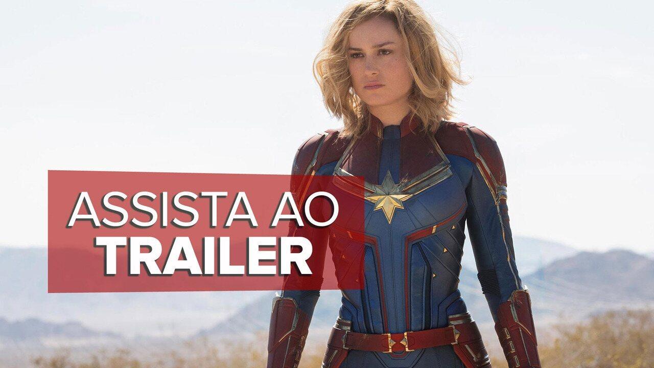 'Capitã Marvel' ganha primeiro trailer; ASSISTA