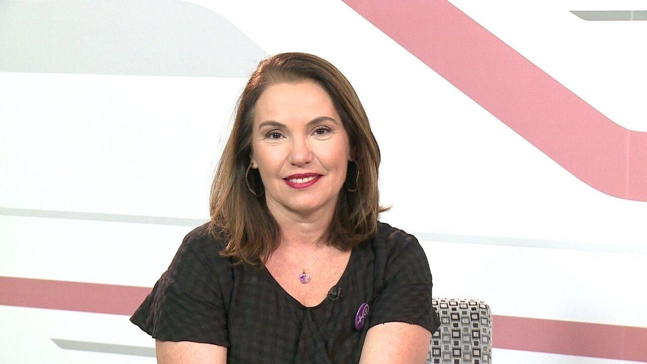 G1 entrevista a candidata ao Senado Albanise Pires