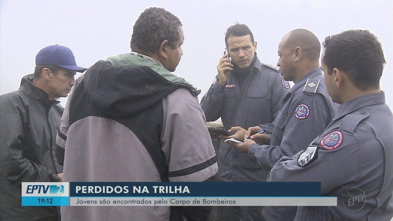 Bombeiros localizam jovens que haviam desaparecido na Serra Fina, no Sul de MG