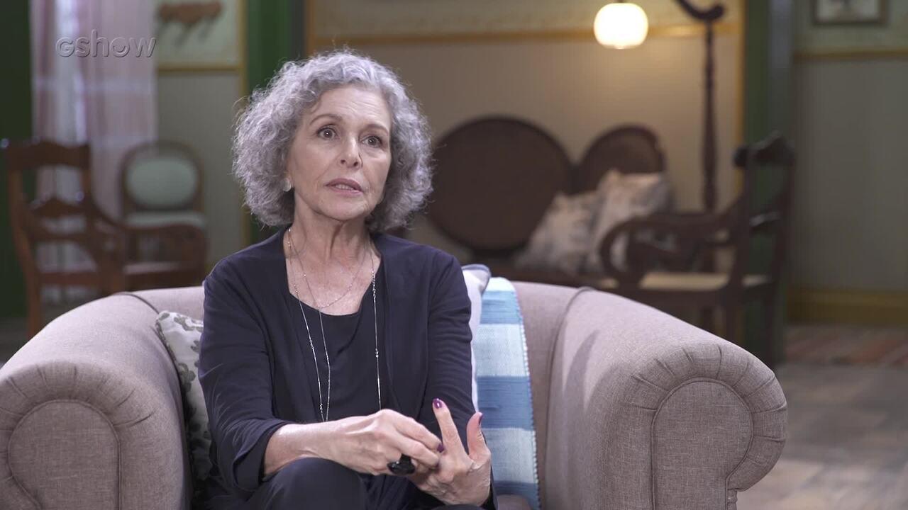 Irene Ravache fala sobre Margot e exalta locação de Espelho da Vida