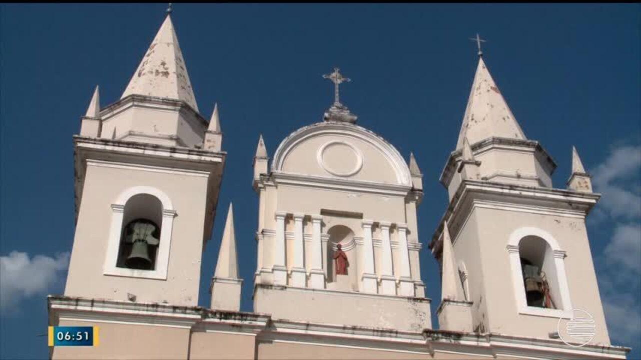 Igreja São Benedito está fechada há dois anos devido obras de recuperação