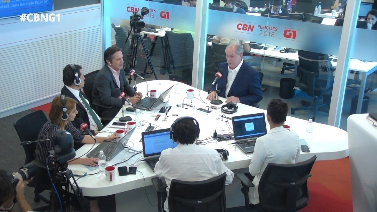 Ciro Gomes fala sobre formação de ministérios e enxugamento da máquina pública
