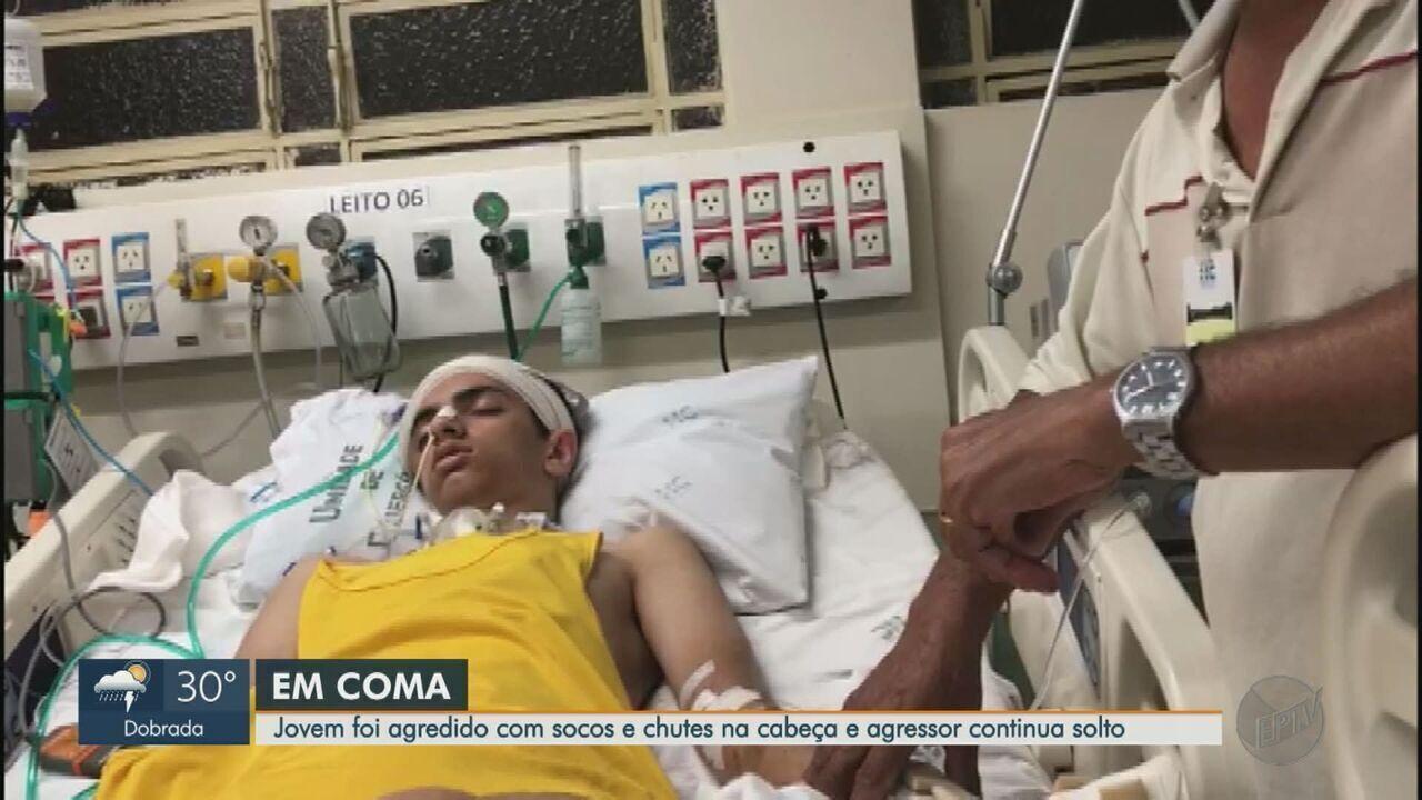 Agredido na porta da escola em Jardinópolis, SP, adolescente segue em estado vegetativo